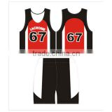 Printed Kids Lacrosse Pinnies Lacrosse Uniform