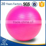 Gymnastic Fitness Pilates oval gym ball, logo printing exercise ball wholesale