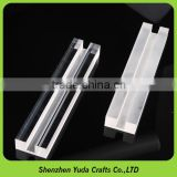 CNC router products milling acrylic trophy base CNC engraving machined acrylic part