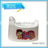 Lovely baby plastic potty,babay closestool