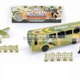 New funny toys military play set police car set TM15010039