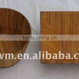 2014 hot sell Round / Square Bamboo Fruit Tray for Salad Bowl