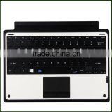 "PU keyboard case with touchpad for 12"" inch Microsoft Surface pro 3"