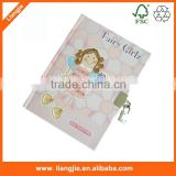 Notebook writing pad kids friends of secret notebook with lock