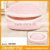 Top Performance Washable Removable Portable Innovative Pet Accessories Hamburger Soft Cat Beds Small Animal Houses