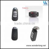 Professional spy camera supplier ultra-hd 720p 1080p remote control car keychain camera mini car key camera