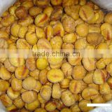 Frozen peeled roasted chestnuts, Quick Freeze chestnuts, IQF chestnuts