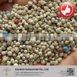 clumping bentonite cat litter with blue and purple beads
