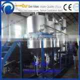 cooking oil refinery machine / Multifunctional Oil Recycling Purifier/ continuous oil refinery machine
