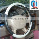 Factory price hottest black and blue car steering wheel covers