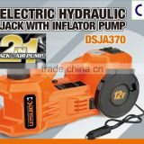 Patent Protection for 2013 Newest Portable Electric Hydraulic Car Jack with Inflator Pump