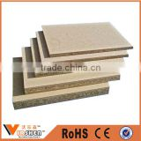 China hollow Waterproof Melamine Chipboard Melamine Particle Board prices for door core