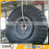 High quality solid cast crane forged wheels price