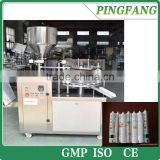 KPLG-40 Semi automatic Aluminum Tube Filling and Sealing Machine for factory price
