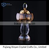 2017 promotional crystal censer,crystal incense burner