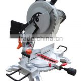 Low Noise 255mm Silent Induction Motor Electric Aluminum Wood Cutting Machine Tools Circular Power King Miter Saw