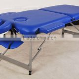 Folding massage table with light weight