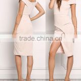 Gorgeous White Party Layered Bandage Dresses One Piece Ladies Cocktail Bodycon Dress 2016 HSD5685