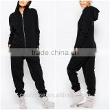 100% Polyester fashion women sleepwear wholesale soft fleece sexy adult onesie