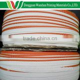 Factory price bulk book binding textile knitting fabric headband roll for printing material