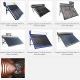 Compact Copper Coil Solar Water Heater