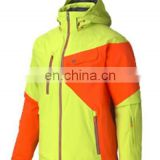 Waterproof men outdoor jacket with TUV certification