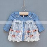 Wholesale fall boutique baby clothes baby girl party dress children frocks designs