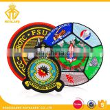 Factory Price Custom Air Force Embroidery Patch with Merrow Border