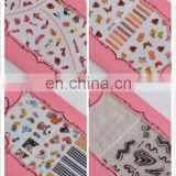 Latest cheap various nail art stickers nail sticker