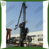 Marine loading arm with QC/DC