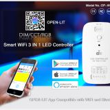 DIM/CCT/RGB 3 IN 1 BLE wifi LED Controller