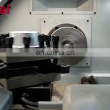 table top cnc lathe CK6136A with automatic bar feeder