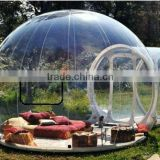 outdoor camping inflatable transparent bubble tent                                                                         Quality Choice
