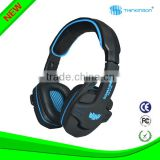 Comfortable 3.5mm Stereo Gaming Over-Ear Headphone Headset with Mic for PC Computer Game With Noise