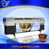 Excellent performancet! roll to roll uv printer/ Flora F1 320UV printer/flex printing machine with konica head