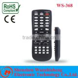 common model thin body IR TV remote control for Middle-East, EU, Africa, South America market