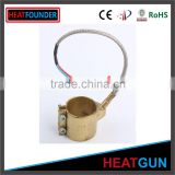 FAST HEAT HIGH TEMPERATURE HOT SALE CUSTOMIZED ELECTRIC BRASS NOZZLE BAND HEATER
