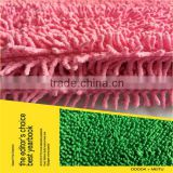 2014 China wholesale long pile high level types multiuses microfiber chenille fabric,top sales