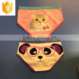 Cute cartoon characters printing panty,100%cotton fabric