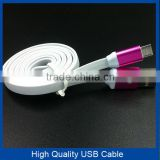 Aluminium USB Data Cable for iphone for samsung for iphone Metal USB Cable                                                                         Quality Choice