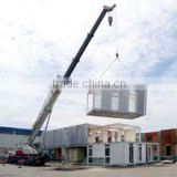 prebuilt container home Sandwich Panel steel structure Container house use for office ,living, shop , etc.