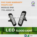 CE ROHS approved IP67 400w led flood light, high bay lights, with long lifespan and five years warranty