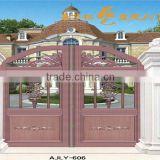 Decorative Aluminium main gate designs for home villa and garden