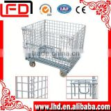 american type Wire pallet cage for bottle storage