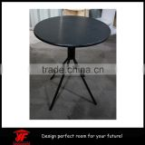 Morden Round Black Wooden dining room used dining table