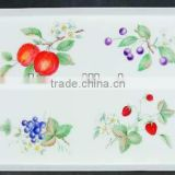 Decorative Plastic Tray With Fruit Plate