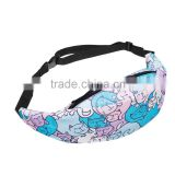 Factory New Arrived 3D Print Custom Wholesale Polyester Fanny Pack