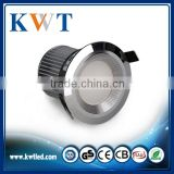 commercial led downlight torsion spring clip high quality 10W recessed downlight fitting with new design