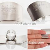 Stainless Steel cutting guard ,chop safe finger guard , safe slice made by Junzhan Factory directly