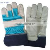 [Gold Supplier] HOT ! Industrial working pigskin first leather welding safety glove                                                                         Quality Choice